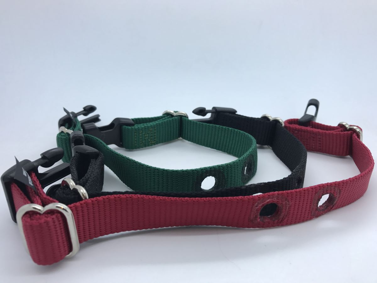 Dog fence one inch collar strap