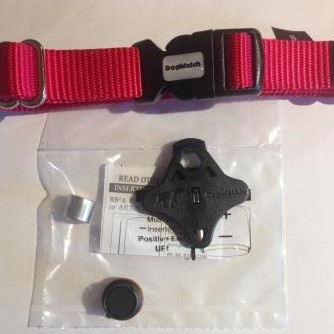 dog fence collar, tester, battery and battery cap for R12