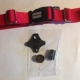 dog fence collar, tester, battery and battery cap for R12m