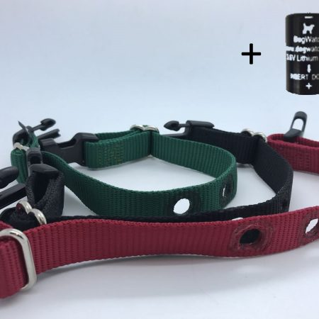 spare medium dog fence collar straps