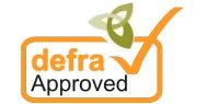 dog fence approved by defra small logo