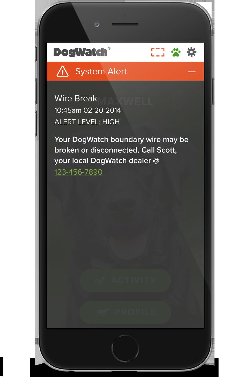 smart fence system alert
