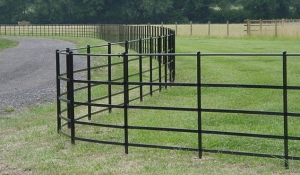 dog fencing used as estate fencing
